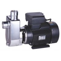 Quality Electric Stainless Steel Self Priming Pump , Self Priming Submersible Pump Copper Wire wholesale