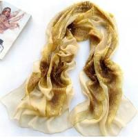 China 2012 Lady′s Silk Embroidered Scarf (JJ6) on sale