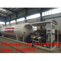 Quality 30m3 15tons skid lpg gas  station with lpg gas dispenser for sale, Wholesale bottom price 30,000L skid lpg gas plant wholesale