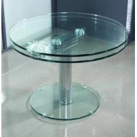 Quality 8mm Round Tea Coffee Table Tempered Glass Panel For Office table wholesale