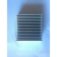 China Silver Extruded Aluminium Heat Sinks , AL6063 T5 Heat Dissipation on sale