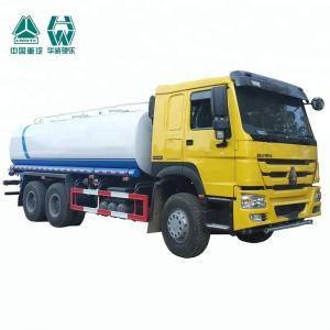 Quality Hydraulic Single Axle Water Tank Truck Internal Anti - Corrosion Treatment wholesale