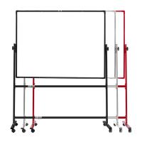 Quality Unique Double Sided Whiteboard , Double Sided Magnetic Whiteboard On Wheels wholesale