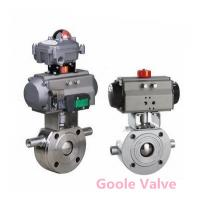 Quality Pneumatic jacketed ball valve wholesale