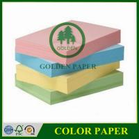 Quality 70gsm 75gsm 80gsm a4 color copy paper color bond paper color paper wholesale
