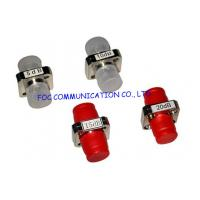 Cheap Custom Female to Female fiber optic attenuator with Plastic or metal housing for sale