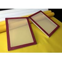 China Aluminium Silk Screen Frames With 100 Mesh Screen Printing Material on sale