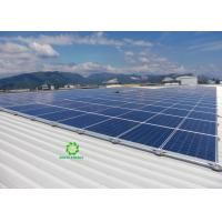 China 200w Portable Solar Panel Roof Mount Off Grid 5kw Solar System on Grid Mid Clamp Solar on sale