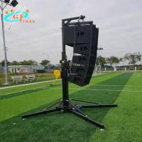 China Hang Audio Light Truss Stand Lift Light Tower Metal Stand Hand Crank on sale