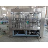Quality Soda Washing Filling Capping Machine 4Kw With 6 pcs Capping Head wholesale