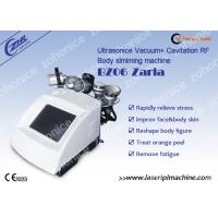 Quality Salon Vacuum Cavitation Body Slimming Machine With 5 Treatment Handles wholesale