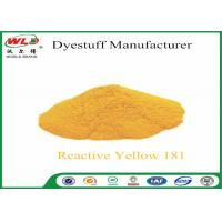 Quality C I Reactive Yellow 181 Reactive Dyes Yellow P-RRN Chemicals In Pad Dyeing wholesale