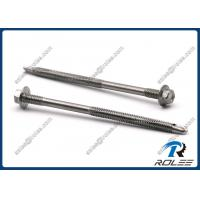 Quality 410 Stainless Steel Tek Screw for Heavy Duty Steel Structure, Double Thread wholesale