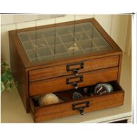 Quality Vintage wooden treasure chest with drawers wholesale