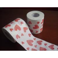Quality heart printed toilet paper 250 sheets 100% virgin pulp jumbo roll toilet paper wholesale