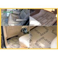 China Auto Carpet Protective Film With Printing And Perforate Car Floor Protection Film on sale