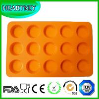 Quality 15 Circle Holes Silicone Cake Chocolate Soap Pudding Jelly Candy Ice Cookie Biscuit Mold wholesale