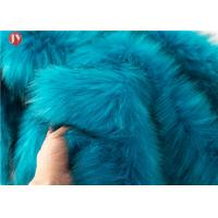 Quality Knitted Faux Fur Craft Fabric Squares Turquoise Fur Light Blue 58-60 Inch wholesale
