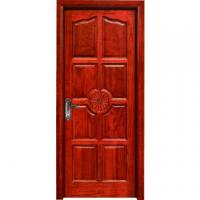 Quality hotel flush room door design MDF melamine door wood interior door wholesale