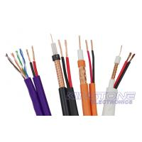 Buy cheap Bonded AL Foil RG59 CCCTV Coaxial Cable 20 AWG B with 7 × 0.37mm CCA for VDT Display product