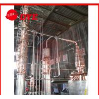 Quality Semi-Automatic Copper Distiller System , Whiskey Distilling Equipment wholesale