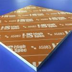 Quality High Precision Cast Aluminum Plate ACP 5080 Aluminum Sheet 5083 Ultra Smooth Surface wholesale
