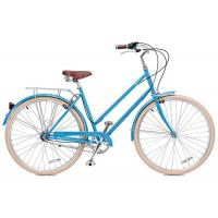 Quality Carbon steel colorful 26 inch OL elegant city bicicle for lady  single speed wholesale