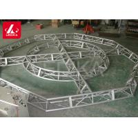 China Customized Aluminum Lighting Truss , Curved Support Space Frame Truss on sale