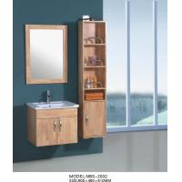 Quality Wall Hanging Bathroom Cabinets 60 X 46 X 51 / cm , 16mm oak wooden bathroom wall cabinets wholesale