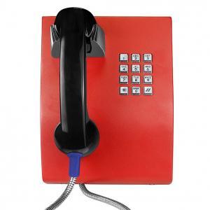 Quality Vandal Proof Handset Analog Wall PhoneFor Hospital / Bus Station Telephone wholesale