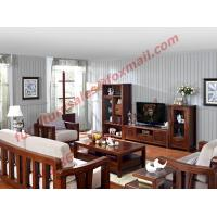Quality High Quality Solid Wooden Frame with Upholstery Sofa Set wholesale