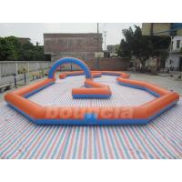 Quality Customized Inflatable Zorb Ball Field , Zorbing Ball Track With PVC Tarpauline wholesale