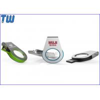 Quality Personalized Cool Water Drop Acrylic 3D LOGO LED Light 16GB USB Flash Drive wholesale