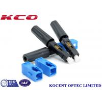 Buy cheap FTTH Solution Product SC /UPC Fast Field Assembly Connector , 50mm from wholesalers