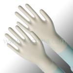 Quality Small / Medium And Stretchable PVC Vinyl Exam Gloves Powder Free wholesale