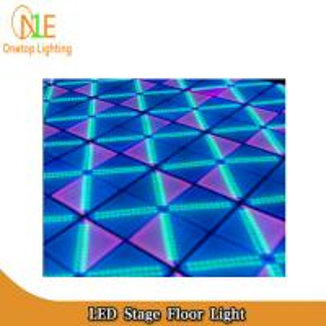 Quality DJ Light professional 840pcs 5mm colorful led dance floor stage foot lighting wholesale
