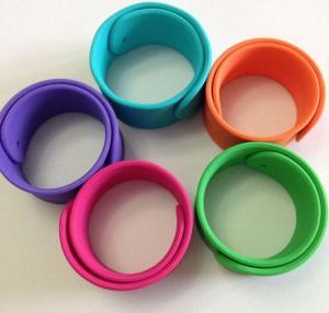 Quality silicone bracelet ,silicone slap wristbands wholesale
