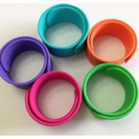 Quality silicone bracelet with logo ,silicone slap wristbands for sport games wholesale