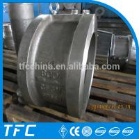China API 594 stainless steel dual plate wafer check valve on sale