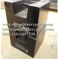 Quality Large Capacity high-grade machinery parts customized 1000lb cast iron weights Grip Handle from china wholesale