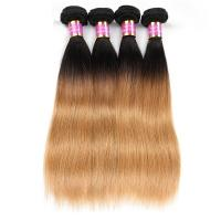 Quality Ombre Human Hair Weave 8A High Grade Straight Ombre Weave No Shedding wholesale