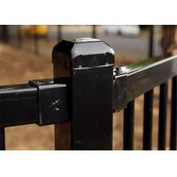 Quality Customized Powder Coating Steel Fence and Steel Gate Designs wholesale