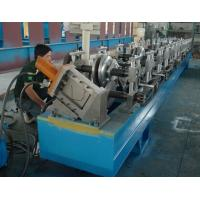 Quality Steel / Aluminum / Copper Mobile Seamless Gutter Machine For Rainwater Gutter Profiles wholesale