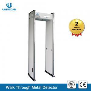 Quality 6 Zones Walk Through Metal Detector , Full Body Metal Detectors For Library wholesale