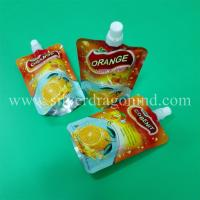 China Silver Dragon Industrial Limited's top sale -  200ml juice bag and compound stand up spout pouch on sale