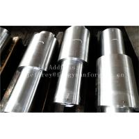 Quality Stainless Steel Hot Forged Step Shaft Step Axis Heat Treatment Machined wholesale