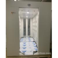 China Fully Automatically Personnel air shower pass through shower box on sale