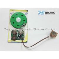 China 30 Seconds Toy Sound Module Birthday Greeting Card 40mm Diameter With A Button on sale