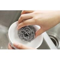 Quality Wear Resistant 410 / 430 Stainless Steel Cleaning Ball Removal Of Stubborn Stains wholesale