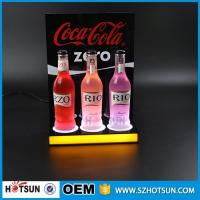 Quality Shenzhen supplier Free design LED acrylic display for wine acrylic products manufacture wholesale